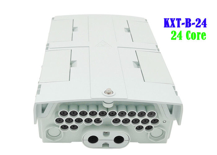 Ip65 Terminal Box , Fiber Electrical Boxes Gray Pole Installation Comprehensive
