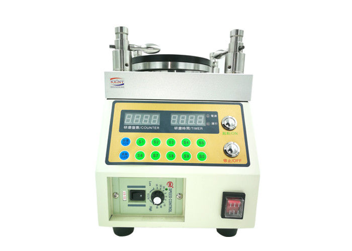 Test Range Four Coils 80RPM Fiber Optic Tools Polishing Machine Polishing Jumping 0.005mm